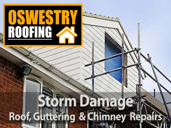 storm damage repair oswestry